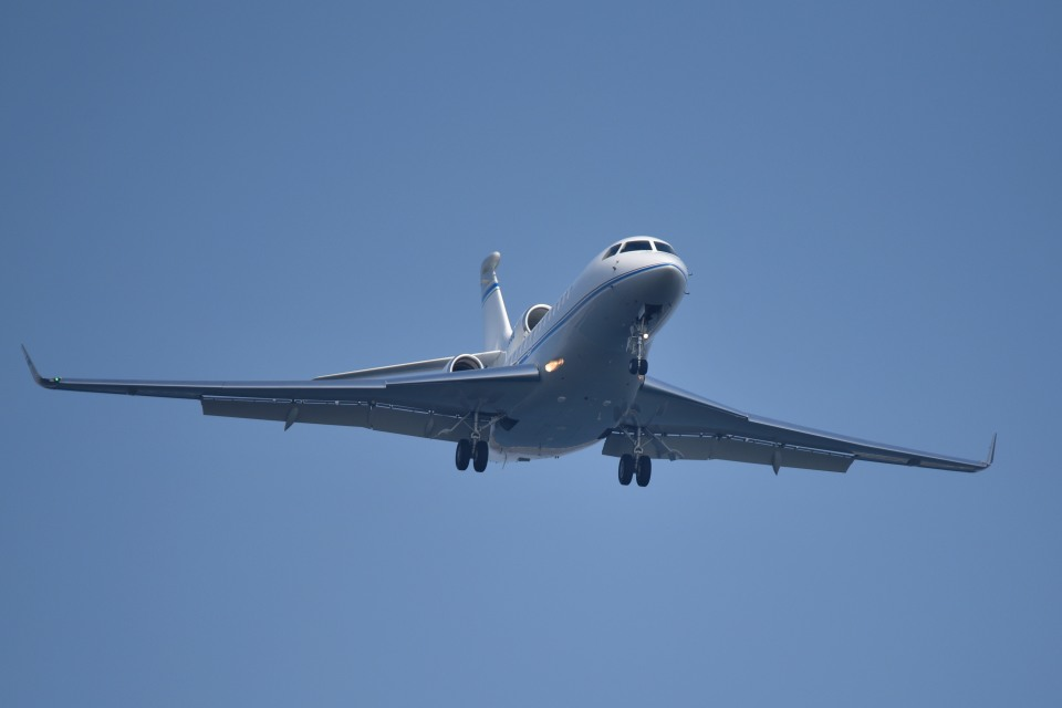 tsubasa0624さんのプライベートエア Dassault Falcon 7X (N906SB) 航空フォト