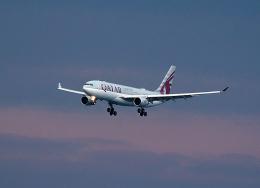 なおさんが、関西国際空港で撮影したカタール航空 A330-202の航空フォト(飛行機 写真・画像)