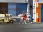 りんたろうさんが、東京ヘリポートで撮影したNTTファイナンス AS355F1 Ecureuil 2の航空フォト(写真)