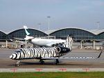 うめやしきさんが、香港国際空港で撮影したTAG エイビエーション・アジア G-IV-X Gulfstream G450の航空フォト(飛行機 写真・画像)