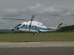 りんたろうさんが、函館空港で撮影した海上保安庁 S-76C+の航空フォト(写真)