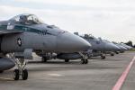 atsushi7353さんが、厚木飛行場で撮影したアメリカ海軍 F/A-18E Super Hornetの航空フォト(写真)