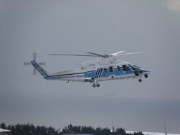 りんたろうさんが、函館空港で撮影した海上保安庁 S-76Cの航空フォト(飛行機 写真・画像)