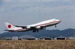カヤノユウイチさんが、米子空港で撮影した航空自衛隊 747-47Cの航空フォト(飛行機 写真・画像)