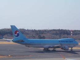 KCZfunさんが、成田国際空港で撮影した大韓航空 747-4B5F/SCDの航空フォト(飛行機 写真・画像)