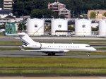 あしゅーさんが、福岡空港で撮影したPratt Aviation BD-700 Global Express/5000/6000の航空フォト(飛行機 写真・画像)