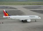 じーく。さんが、羽田空港で撮影したフィリピン航空 A320-214の航空フォト(飛行機 写真・画像)