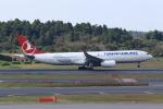 T.Sazenさんが、成田国際空港で撮影したターキッシュ・エアラインズ A330-343Xの航空フォト(飛行機 写真・画像)