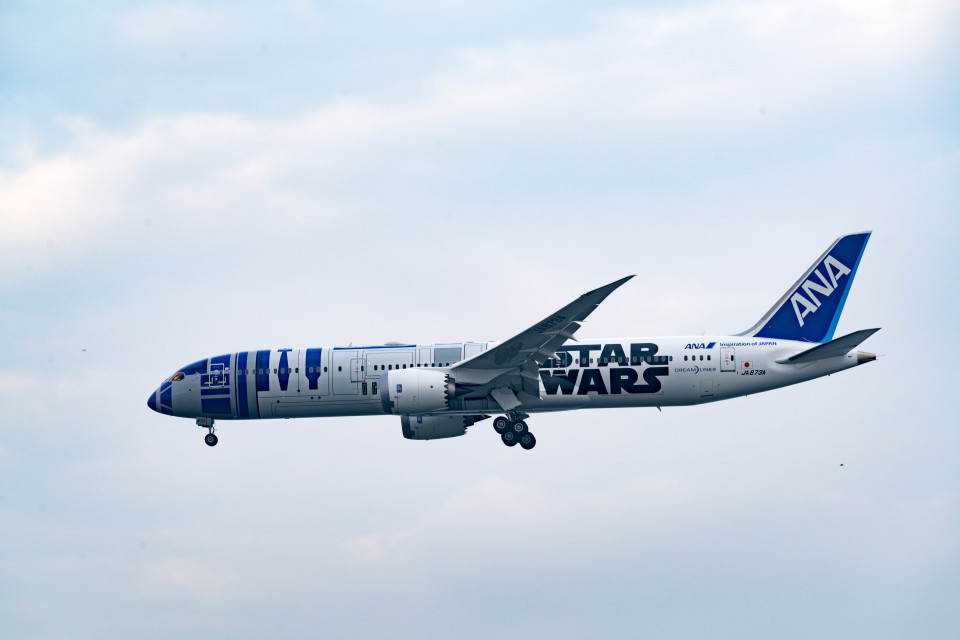 m-takagiさんの全日空 Boeing 787-9 (JA873A) 航空フォト