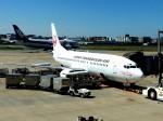 tsubasa0624さんが、福岡空港で撮影した日本トランスオーシャン航空 737-4Q3の航空フォト(写真)