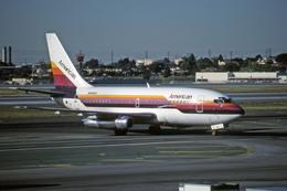 Gambardierさんが、ロサンゼルス国際空港で撮影したアメリカン航空 737-247の航空フォト(飛行機 写真・画像)