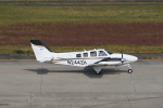 kumagorouさんが、仙台空港で撮影した航空大学校 58 Baronの航空フォト(飛行機 写真・画像)