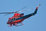 パンダさんが、成田国際空港で撮影した富山県消防防災航空隊 412EPの航空フォト(飛行機 写真・画像)