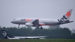 にっしーさんが、クライストチャーチ国際空港で撮影したジェットスター A320-232の航空フォト(飛行機 写真・画像)