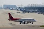 ハピネスさんが、関西国際空港で撮影した深圳航空 A320-214の航空フォト(飛行機 写真・画像)