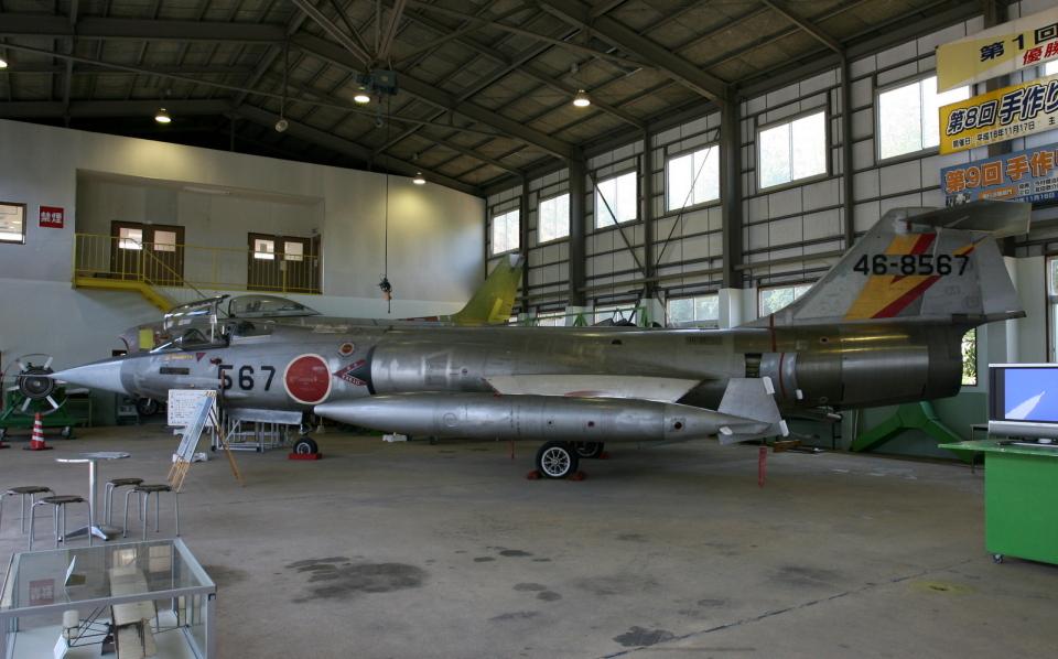 asuto_fさんの航空自衛隊 Mitsubishi F-104 (46-8567) 航空フォト