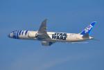 さくらの城南山。さんが、羽田空港で撮影した全日空 787-9の航空フォト(写真)