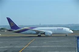 柏の子?さんが、デンパサール国際空港で撮影したタイ国際航空 787-8 Dreamlinerの航空フォト(飛行機 写真・画像)