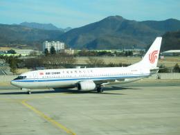 TUILANYAKSUさんが、大邱国際空港で撮影した中国国際航空 737-808の航空フォト(飛行機 写真・画像)