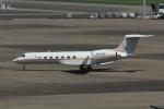 たまさんが、羽田空港で撮影したウガンダ政府 G-V-SP Gulfstream G550の航空フォト(写真)