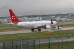 さんみさんが、フランクフルト国際空港で撮影したプライベートエア 737-8BKの航空フォト(飛行機 写真・画像)