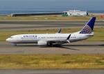 じーく。さんが、中部国際空港で撮影したユナイテッド航空 737-824の航空フォト(写真)