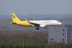 しんさんが、新千歳空港で撮影したバニラエア A320-214の航空フォト(写真)