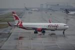 しんさんが、関西国際空港で撮影したエア・カナダ・ルージュ 767-33A/ERの航空フォト(写真)