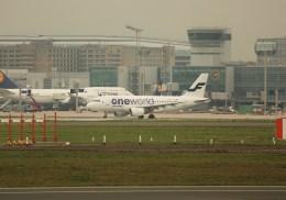 ケロさんが、フランクフルト国際空港で撮影したフィンエアー A319-112の航空フォト(飛行機 写真・画像)