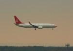 ケロさんが、フランクフルト国際空港で撮影したプライベートエア 737-8BKの航空フォト(飛行機 写真・画像)