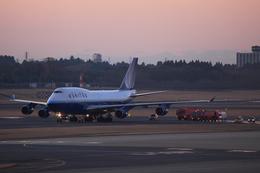 y_ryuさんが、成田国際空港で撮影したユナイテッド航空 747-422の航空フォト(飛行機 写真・画像)