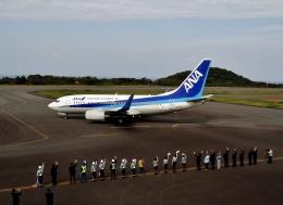 kei604さんが、大島空港で撮影した全日空 737-781の航空フォト(飛行機 写真・画像)