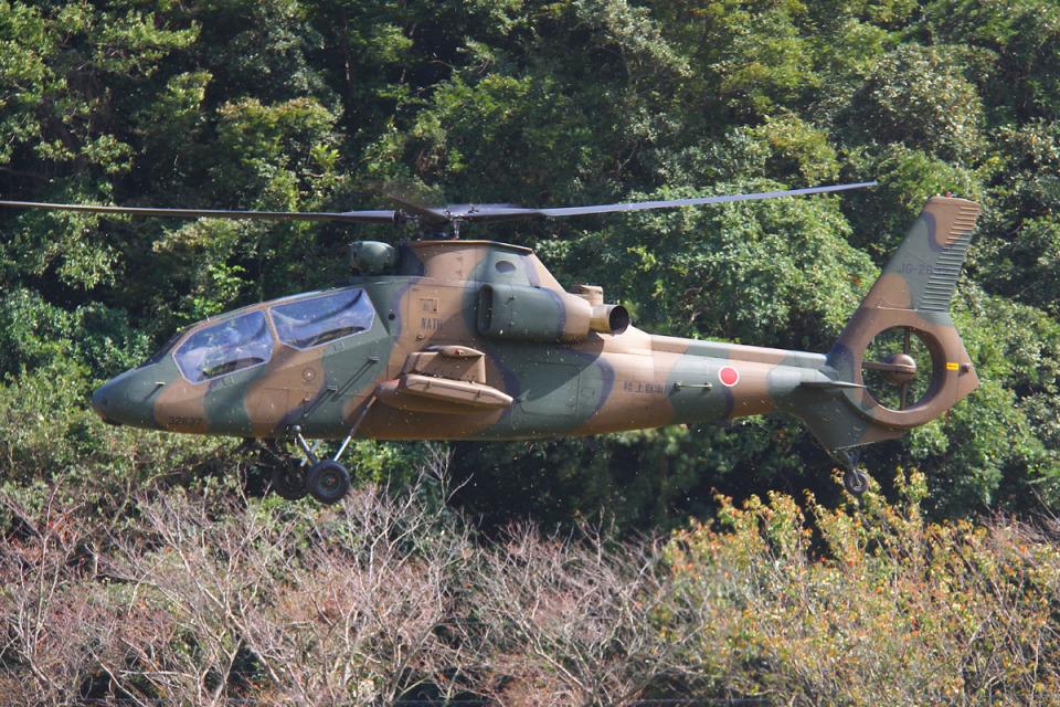 りんたろうさんの陸上自衛隊 Kawasaki OH-1 (32637) 航空フォト