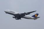 しんさんが、関西国際空港で撮影したルフトハンザドイツ航空 747-430の航空フォト(写真)