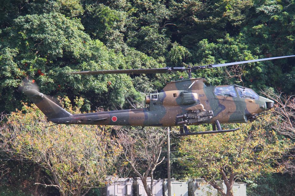 りんたろうさんの陸上自衛隊 Fuji AH-1S (73444) 航空フォト