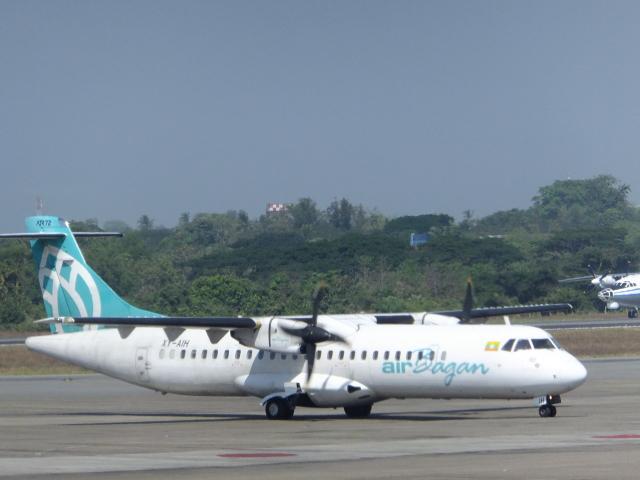 twinengineさんが、ヤンゴン国際空港で撮影したバガン航空 ATR-72-212の航空フォト(飛行機 写真・画像)