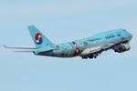 SKYLINEさんが、中部国際空港で撮影した大韓航空 747-4B5の航空フォト(飛行機 写真・画像)