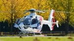 santaさんが、獨協医科大学で撮影した本田航空 EC135P2+の航空フォト(写真)