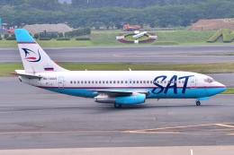フリューゲルさんが、成田国際空港で撮影したオーロラ 737-232/Advの航空フォト(飛行機 写真・画像)