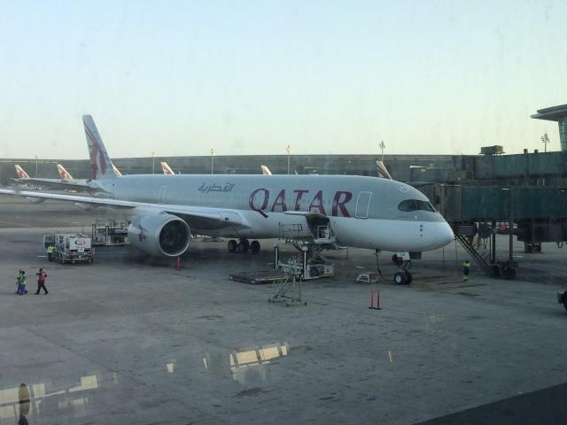 twinengineさんが、ドーハ国際空港で撮影したカタール航空 A350-941の航空フォト(飛行機 写真・画像)