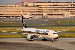 航空フォト:9V-SRQ シンガポール航空 777-200