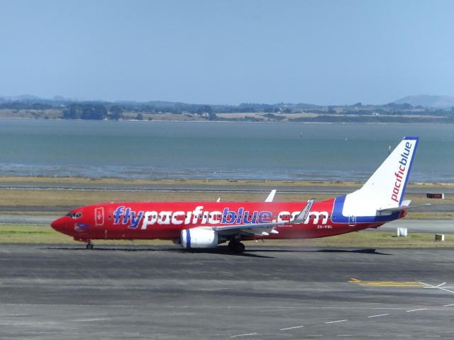 twinengineさんが、オークランド空港で撮影したパシフィック・ブルー 737-8FEの航空フォト(飛行機 写真・画像)