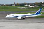 バーバ父さんが、ブリュッセル国際空港で撮影した全日空 787-8 Dreamlinerの航空フォト(写真)