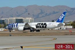 小弦さんが、ノーマン・Y・ミネタ・サンノゼ国際空港で撮影した全日空 787-9の航空フォト(飛行機 写真・画像)