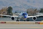 小弦さんが、ノーマン・Y・ミネタ・サンノゼ国際空港で撮影した全日空 787-9の航空フォト(写真)