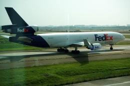 メニSさんが、台湾桃園国際空港で撮影したフェデックス・エクスプレス MD-11Fの航空フォト(飛行機 写真・画像)