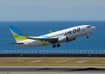 じーく。さんが、中部国際空港で撮影したAIR DO 737-781の航空フォト(飛行機 写真・画像)