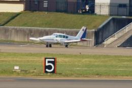 しんさんが、花巻空港で撮影した北日本航空 PA-23-250 Aztec Fの航空フォト(写真)