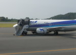 kumagorouさんが、大島空港で撮影したエアーネクスト 737-54Kの航空フォト(写真)