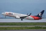 Tomo-Papaさんが、関西国際空港で撮影した山東航空 737-85Nの航空フォト(写真)